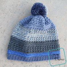 Beanie Crochet Free Crochet Pattern – Diana Beanie – Crochet - Simple, quick, and wonderfully textured – the Crochet Diana Beanie is uncomplicated but looks great. It's a simple design that looks good a variety of color combinations or in a variegated ya… Crochet Gifts, Free Crochet, Crochet Baby, Knit Crochet, Quick Crochet, Ravelry Crochet, Chunky Crochet, Crochet Things, Crochet Beanie Pattern