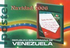 Postal: Querido Niño Jesus (Venezuela) (Ipostel - Christmas 2006) Col:ve_ipostel_NAV2006_01