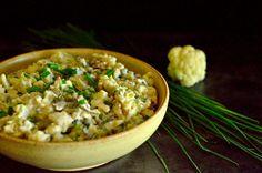 Sałatka z surowego kalafiora Risotto, Rice, Snacks, Cooking, Ethnic Recipes, Fork, Blog, Cuisine, Kitchen