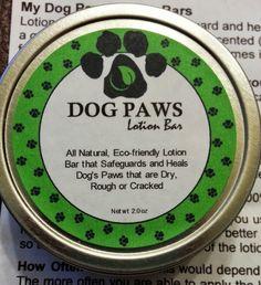 Dog Paws Lotion Bars