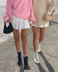 Street Style Outfits, Indie Outfits, Cute Casual Outfits, Winter Outfits, Summer Outfits, Fashion Outfits, Girly Outfits, Skirt Fashion, Fashion Shoes