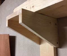 Easy woodworking projects for beginners!Easy Job Suggestions and also Plans for Homemade Gifts as well as Style. Easy Shelves, Garage Storage Shelves, Wood Storage, Garage Shelf, Easy Woodworking Projects, Diy Wood Projects, Woodworking Basics, Woodworking Plans, Lumber Rack
