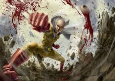 One-Punch Man : Saitama!!!!, TheKnott Tarasilp on ArtStation at https://www.artstation.com/artwork/P49KL