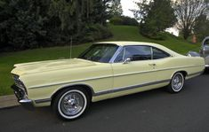 My dad owned one: 1966 Ford Galaxie 500 Fastback