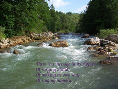 """The song of a river""""#moments""""#lifelessons""""#memories"""