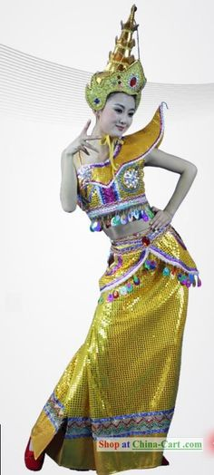 Thailand Traditional Dance Costumes