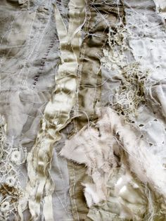 Image discovered by Find images and videos about beautiful, inspiring and texture on We Heart It - the app to get lost in what you love. Textile Design, Textile Art, Halloween Garage, Fabric Manipulation Techniques, Rustic Fabric, Black Fairy, Surface Design, Wearable Art, Fiber Art