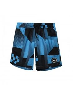 ΕΝΔΥΜΑΤΑ ΜΑΓΙΟ QUIKSILVER CHECKER REMIX VOLLEY YOUTH 15 EQBJV03142-BMM6 Μπλε
