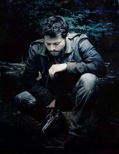 Misha Collins as Castiel - Supernatural