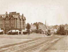 London, Blackheath Village circa 1890.jpg (1280×985)