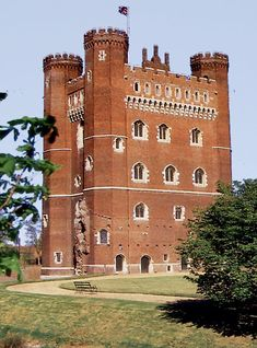 Tattershall Castle (Lincolnshire, England) [built in 1431 by Ralph 3rd Lord Cromwell]