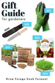 This holiday gift guide for backyard gardeners will give you all kinds of ideas for your small space gardening and permaculture friends. Find ideas for small gardening tools (great stocking stuffers!), seed starting kits, books, and more. You'll find the perfect holiday or Christmas gift for the gardener in your life. Small Space Gardening, Gardening Tools, Container Gardening, Holiday Gift Guide, Holiday Gifts, Christmas Gifts, Easy Garden, Garden Ideas, Micro Farm