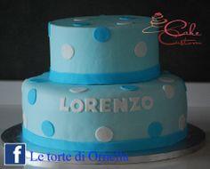 torta semplice primo compleanno bimbo