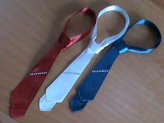 Классический галстук с зажимом в стиле канзаши для мальчиков