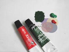 Mahmued.Art: الاوان تكوين اللون الأخضر الغامق  نسبه اللون الأخضر ٢ اللون الأحمر ١