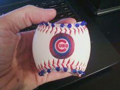 Ronnie McGrath Homemade Crafts: Real Baseball Cuff Bracelet Tutorial!