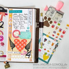 Creative Creations by Andrea Gomoll | Listers gotta List Challenge – first bunch of Pages | http://andrea-gomoll.de