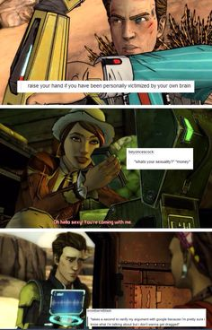 Tales from the borderlands + text posts by losemyhome on Tumblr
