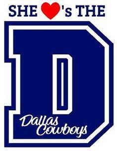 """My Dallas Cowboys fan shirt. :) ((in """"Husband Stuff"""" because he's the big Cowboys fan.))"""