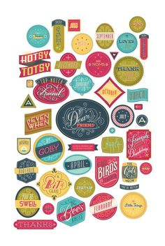 colorFULL logos {badges, banners}