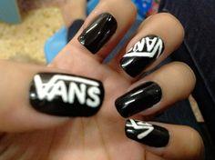 Vans Nail By Weweeaflo