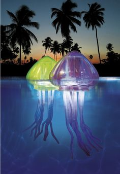 Led color changing showerhead brightens up your bathing for Tap tap fish light jellyfish