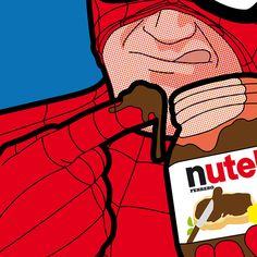 grég guillemin peeks into the private lives of comic book characters - designboom | architecture