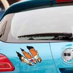 S-Size-Creative-Funny-Garfield-cartoon-Tearing-claws-car-stickers-Wall-Decals