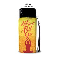 Cool Meditation Life-is-Short image Wallet Case for Mobile Phone T Mobile Phones, Best Mobile Phone, Mobile Phone Repair, Mobile Phone Cases, Samsung Mobile, Iphone Gps, Meditation, First Iphone, Rfid Wallet