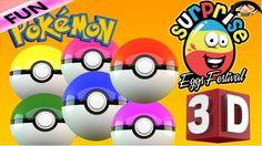 Learn Colors Pokemon Go! Teach Colours, Baby Toddler Preschool Nursery R...