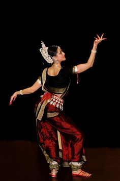 Sitara Thobani. Performs Mahari or Women's tradition of Odissi. (Indian)