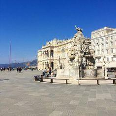 Back in Trieste for some work and planning for the next months.. love my city 💎#italy #italian #trieste #sunny #architecture #beautiful #city #cityscape #urban #urbanphotography #picoftheday #cityphotography #like4like #likes4like #relax #italia #piazza #landscape #landscapelovers #enjoylife #iphonephotography #iphone7plus #history #historic #yeah