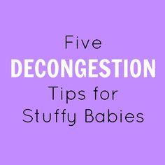 5 Decongestion Tips for Stuffy Babies – Lou Lou Girls #5 #decongestion #tips #stuffy #babies #momlife #mom #kids