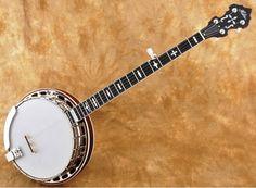 Huber Workhorse Curly Maple Banjo