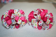 Great hairbow blog