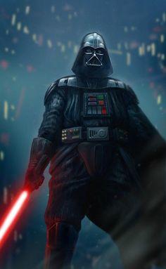 Darth Vader by by James Bousema