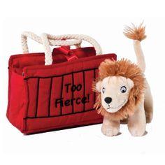 Aurora Dear Zoo Toy Lion in Bag