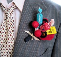 Candy Corsage or Boutonniere