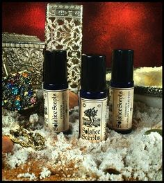SIROCCO Perfume Oil Solstice Scents Moroccan spices, sandalwood, hot baked Earth, myrrh resin, precious saffron threads and a touch of oud meld together to create a dry, woody, resinous, spicy and extremely exotic scent representing the blisteringly hot desert, spice caravans and never ending sun scorched sand.