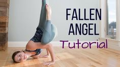 Fallen Angel Pose Tutorial - Step by Step Arm Balance Demonstration