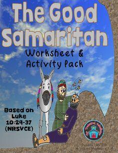 The Good Samaritan Worksheet and Activity Pack