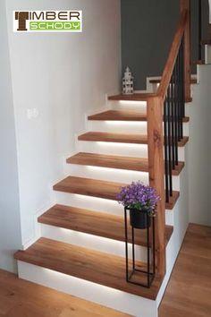 Home Stairs Design, Home Room Design, Dream Home Design, Home Entrance Decor, Home Decor, Small Bathroom Layout, Minimalist House Design, House Stairs, House Rooms
