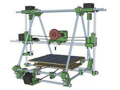 Imprimante 3D Prusa Mendel Kit , les meilleurs prix, les tests, les dimensions...  3dnatives