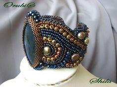crafty jewelry: embroidery necklace   make handmade, crochet, craft
