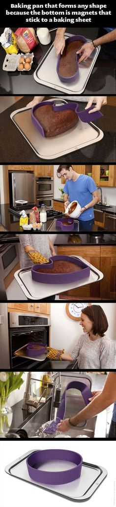 A baking pan with a twist...