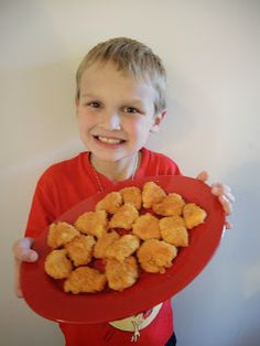 Eileen Copeland- All Things Type 1 Diabetes and Celiac Disease: EASY Gluten Free Chicken Nuggets-Doesn't get much more simple than this!