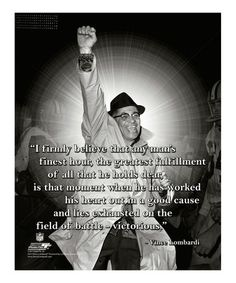 Love this Green Bay Packers Vince Lombardi Pro Quote Canvas by Photo File