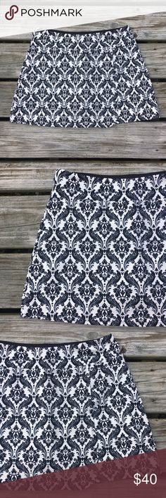 """GOTH PUNK GRUNGE HALLOWEEN SOFT MINI SKORT SKIRT!! Tags- RARE Beautiful Fancy Damask Swirl Graphic Design Print Pattern Faux Wrap Front Style Silky SOFT Smooth Stretch Mini Skort Skirt Sexy Cute Goth Gothic Punk Grunge Halloween Soybu Lotus Fit Athletic Workout Casual 