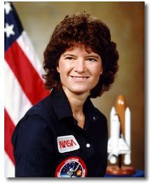 "Actual questions asked by People Magazine to Sally Ride:    Q: ""Will the flight affect your reproductive organs?""  A: ""There's no evidence of that.""    Q: ""Do you weep when things go wrong on the job?""  A: ""How come nobody ever asks (a male fellow astronaut) those questions?""    RIP, Sally."