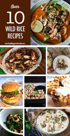 11 Wild Rice Recipes You'll Fall For Wild Rice Recipes, Best Thanksgiving Recipes, Canadian Food, Grain Foods, Weekly Menu, Holiday Tables, Winter Holiday, Cocktail Recipes, Stew